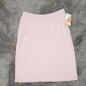 Honey and lace pencil skirt NWT size L
